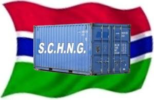 Container naar Gambia.com